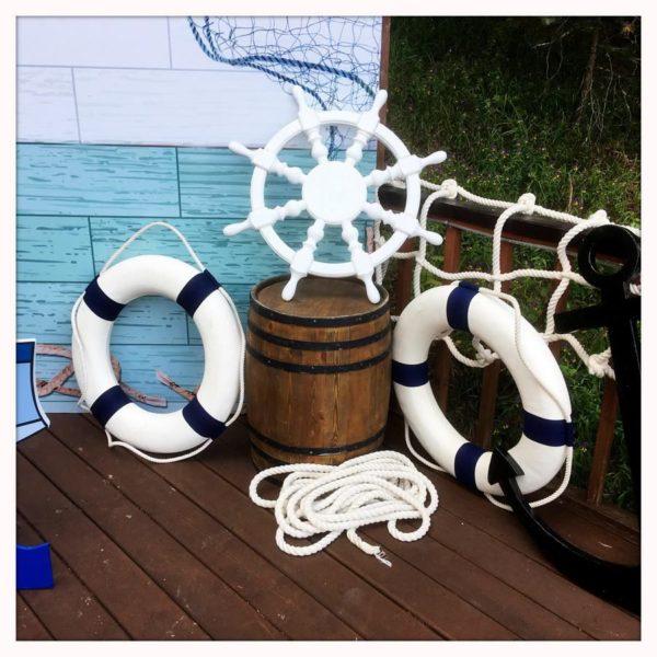 декорация спасательный круг