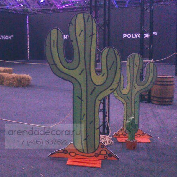 декорация кактус