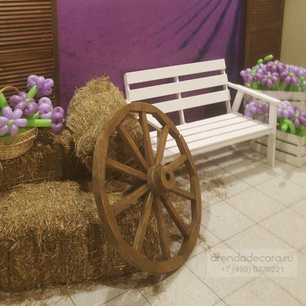 аренда колеса телеги