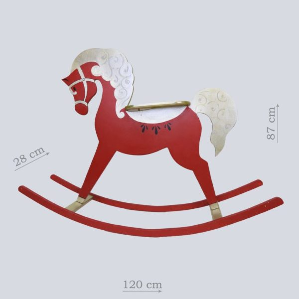 бутафорская лошадка качалка