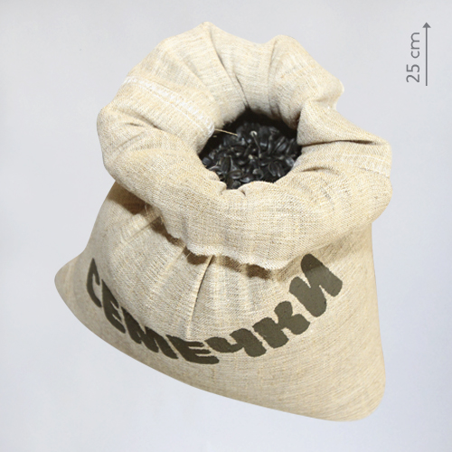 бутафорский мешочек семечек