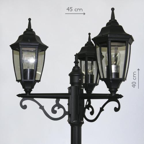 фонарь уличный трехрожковый в аренду