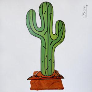 Аренда плоского пластикового кактуса