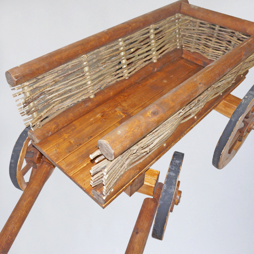 аренда деревянной телеги