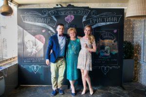 аренда меловой доски для свадьбы в Москве