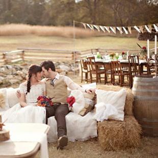 аренда тюков соломы для свадьбы