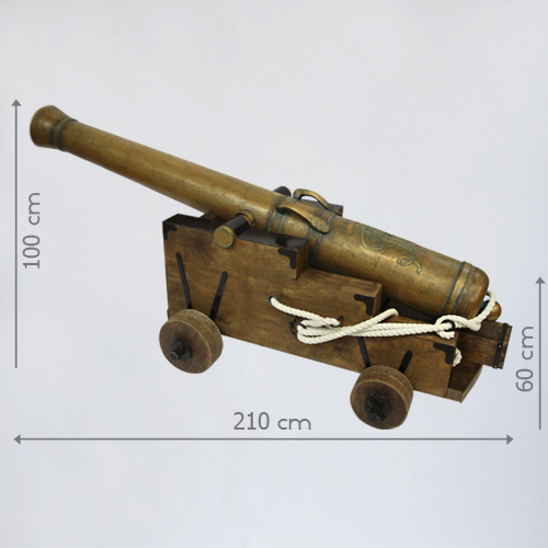 пиратская пушка в аренду
