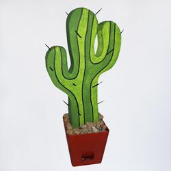 пенопластовый кактус в ареду
