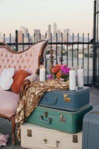 аренда чемодана для декора