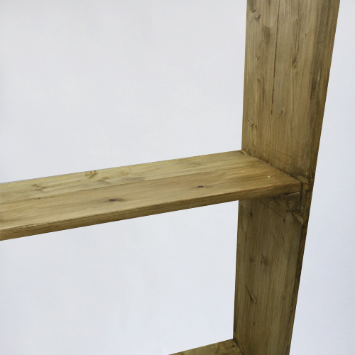 аренда деревянного стелажа