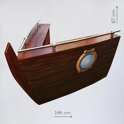 Декорация нос корабля в аренду