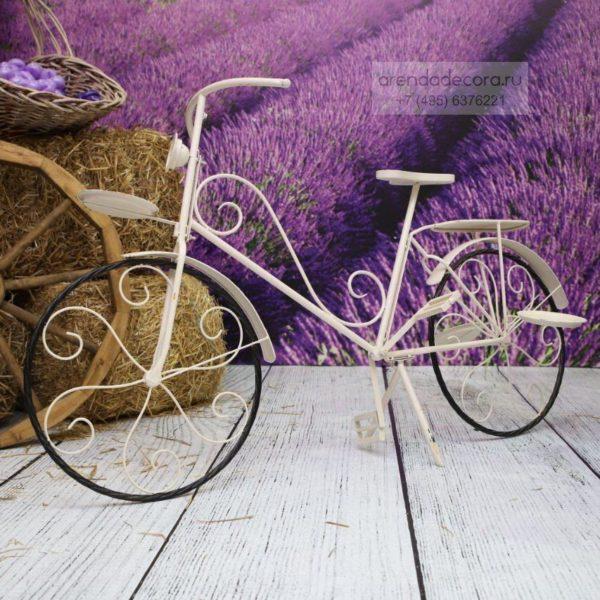 аренда кованного велосипеда для декора