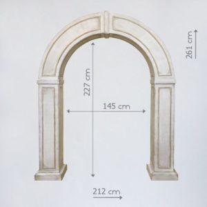 аренда деревянной арки
