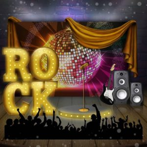 Фотозона «Rock party»