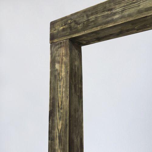 деревянная арка в стиле кантри