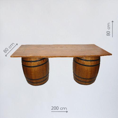 стол из бочек в аренду