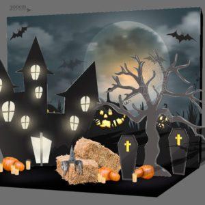 аренда фотозоны Хеллоуин