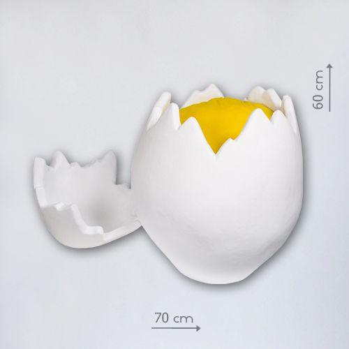 большое яйцо для фотосесии