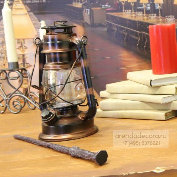 лампа керосинка для декора