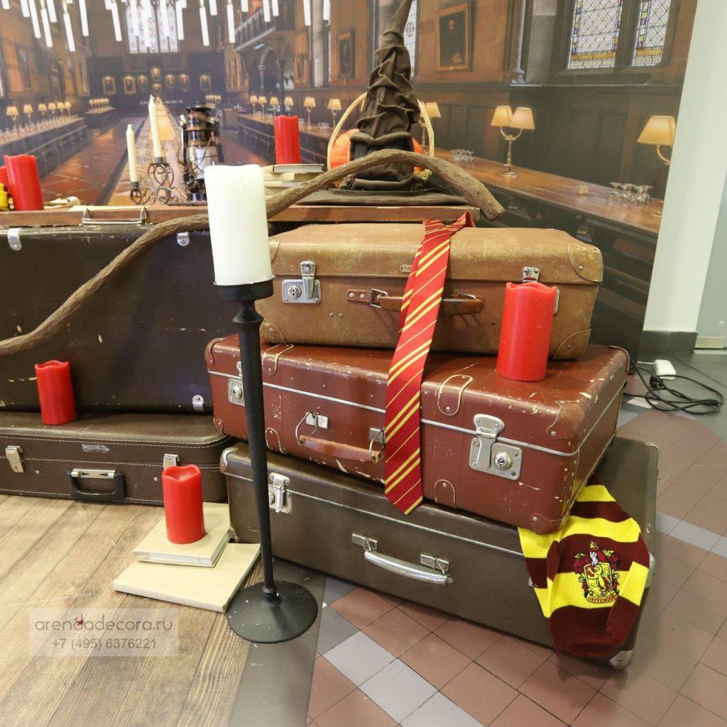 чемодан для декора