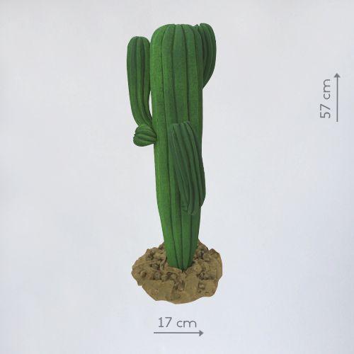 пенопластовый кактус