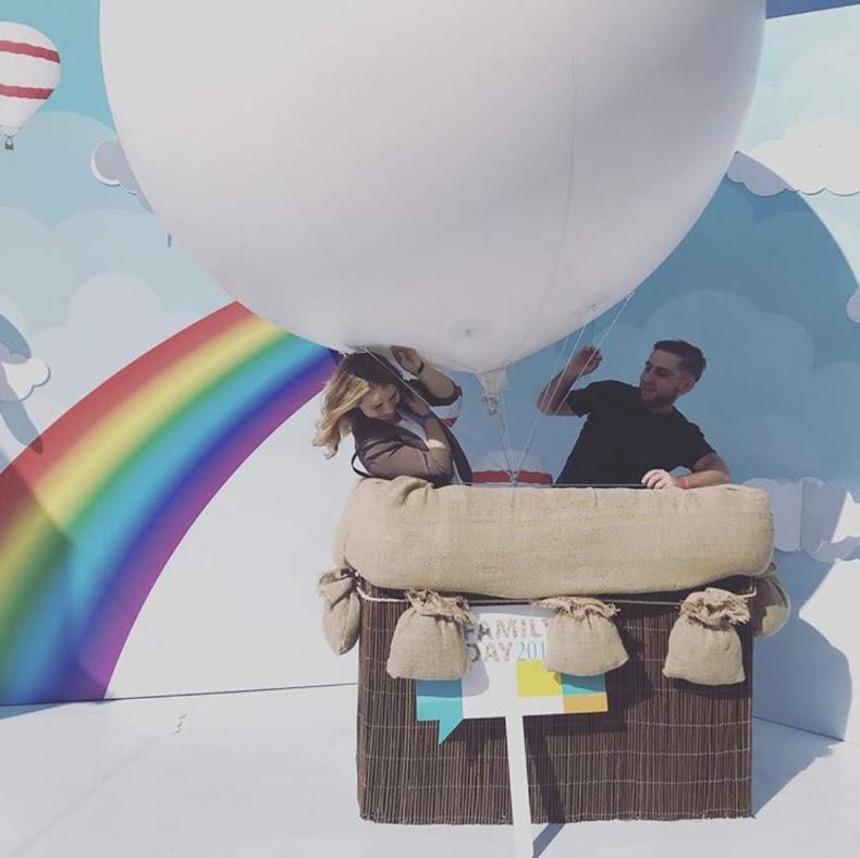 аренда корзины воздушного шара