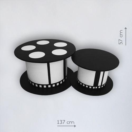 бутафорские катушки киноленты