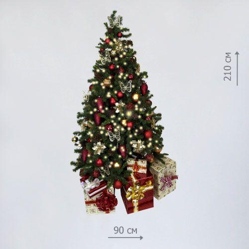Аренда новогодней украшенной елки