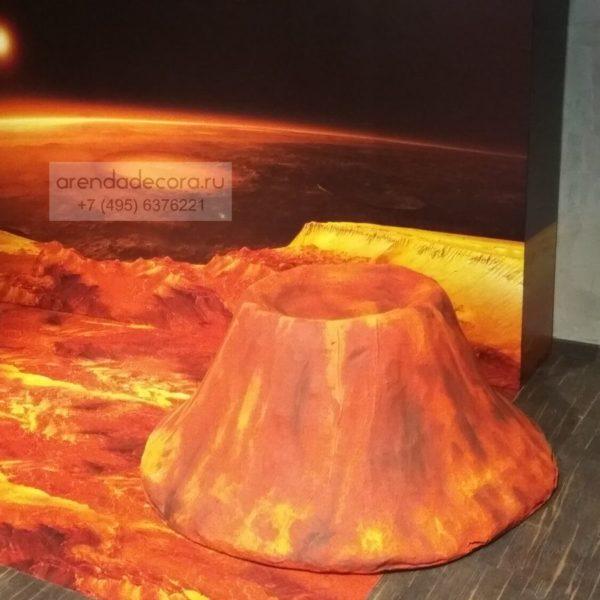 декорация кратер марсианский