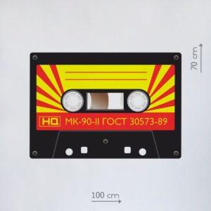 ростовая фигура аудиокассета