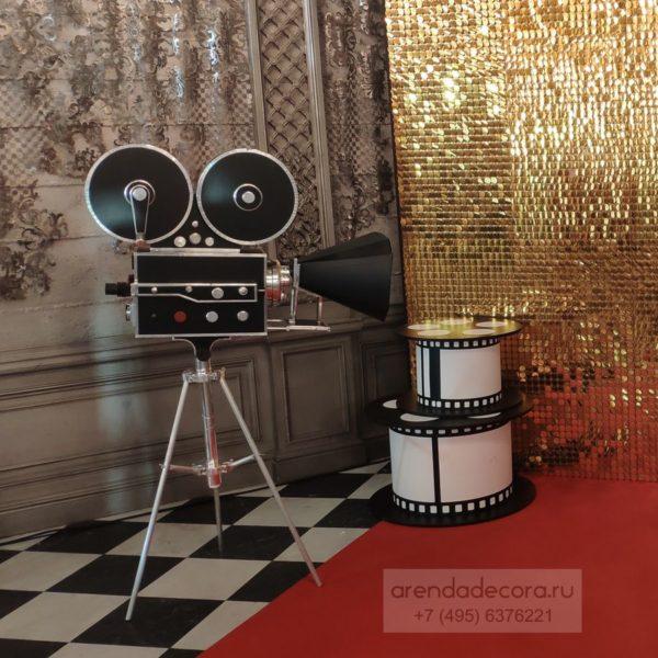 декорация кинокамера