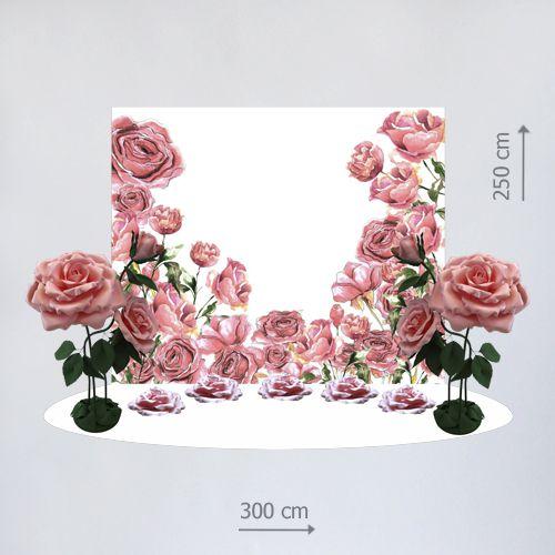 фотозона цветы