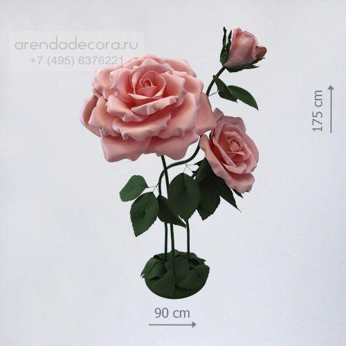 большие цветы для фотозоны