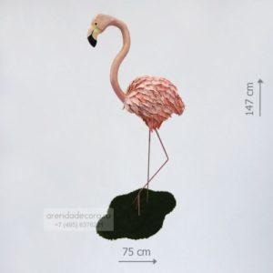 декорация фламинго