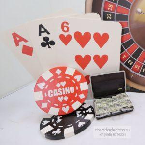 декорация игральные карты