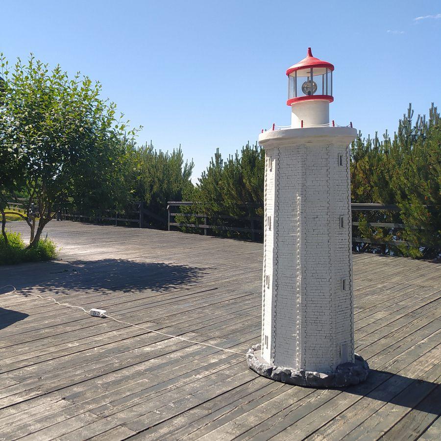 Декор загородного участка в морском стиле