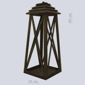 Деревянный фонарь большой
