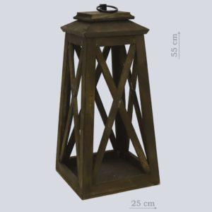 Деревянный фонарь малый
