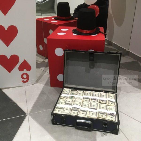 фальшивый Чемодан с деньгами