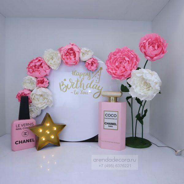 Фотозона на день рождения девушки