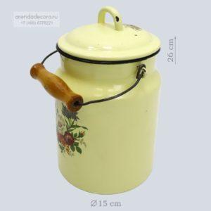 реквизит бидон желтый