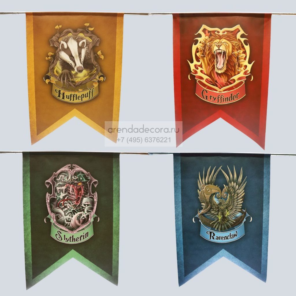 фотозона в стиле Гарри Поттера