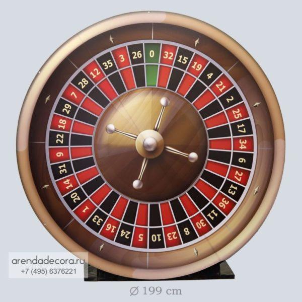 круглый баннер казино