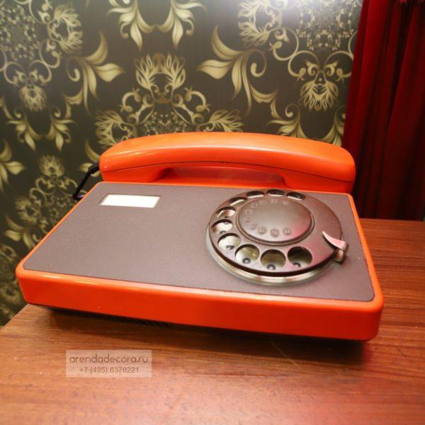 телефон ссср оранжевый