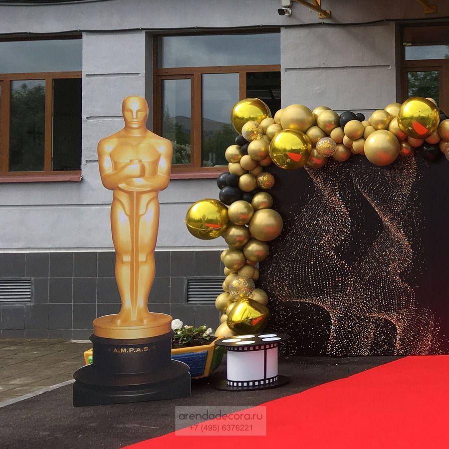 """Фотозона в стиле """"Оскар"""" на выпускной"""