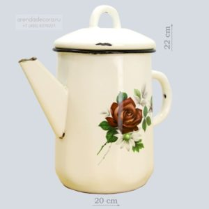 чайник белый аренда