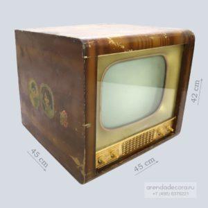 реквизит Старый телевизор